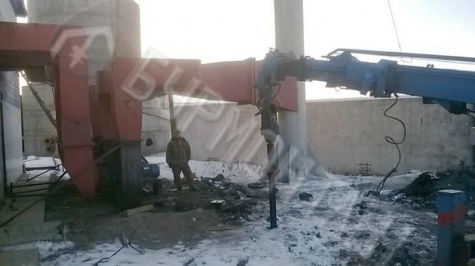Монтаж фундамента под зернобункер КФХ Майер и К
